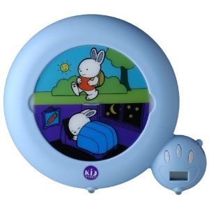 Sleep training clock for toddlers
