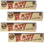 Raw King Size Organic Cigarette Rolling Papers