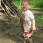 Ouside Party Games for Kids - Puddle Jumping